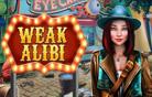 Weak alibi