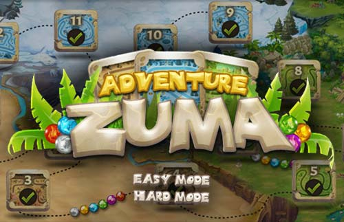 Adventure Zuma At Hidden4fun Com