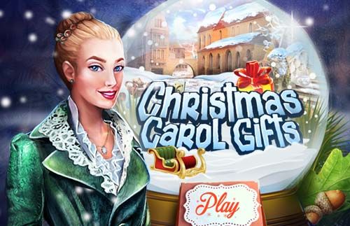 Christmas Carol Gifts at hidden4funcom