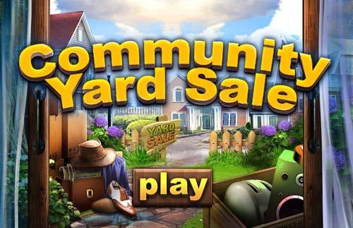 Community Yard Sale At Hidden4fun Com