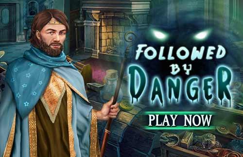 Followed by danger